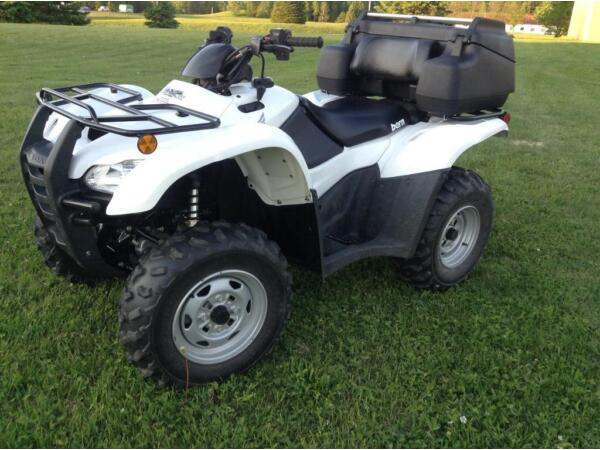 Used 2009 Honda Fourtrax at Canadian Trail Edition