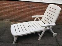 Folding Sun-lounger Garden Chairs