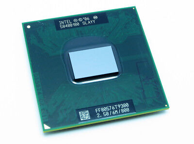 New Intel Core 2 Duo T9300 CPU 2.50GHz 6MB OEM SLAYY **Ship From US** Core 2 Duo T9300 Processor