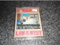 LAW OF THE WEST COMMODORE CBM 64 GAME