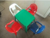 Table and Chairs set