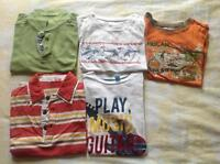Lot tee-shirt garcon 6-8 ans