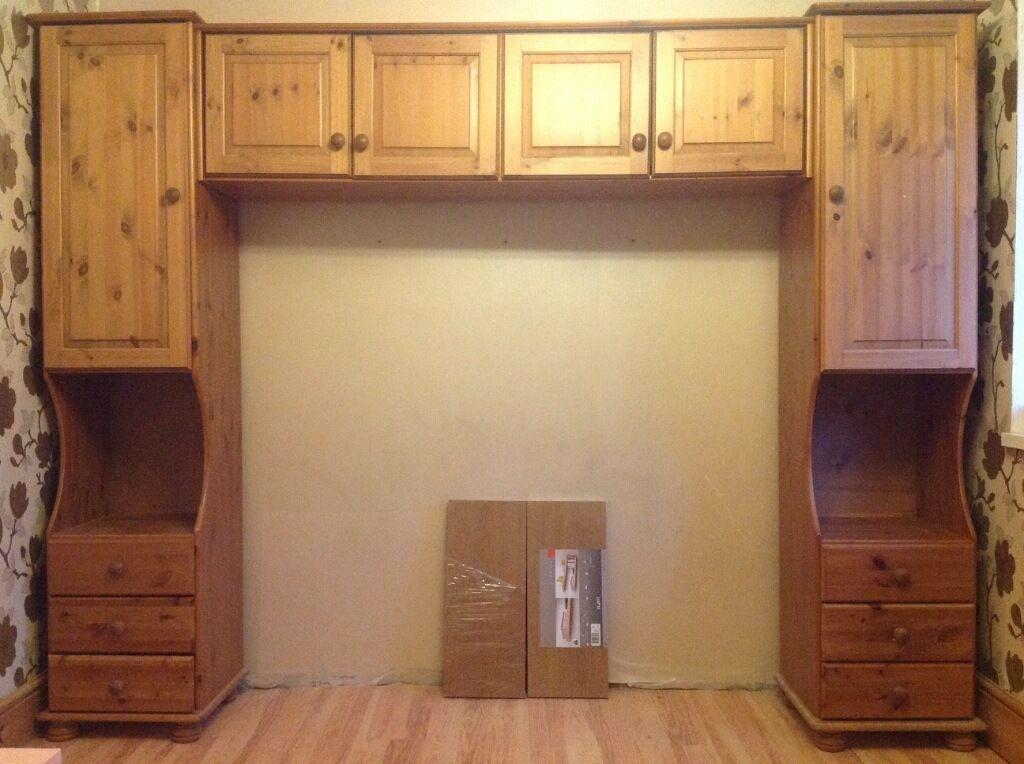 overbed storage unit solid pine in bath somerset gumtree. Black Bedroom Furniture Sets. Home Design Ideas