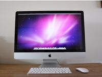 "Apple iMAC 27"" , Wireless Keyboard, Magic Mouse, Installation Discs, Mac Instruction Booklet"