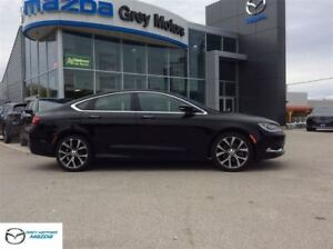 2016 Chrysler 200 C, V6, heated leather, Panoramic Roof, Navigat
