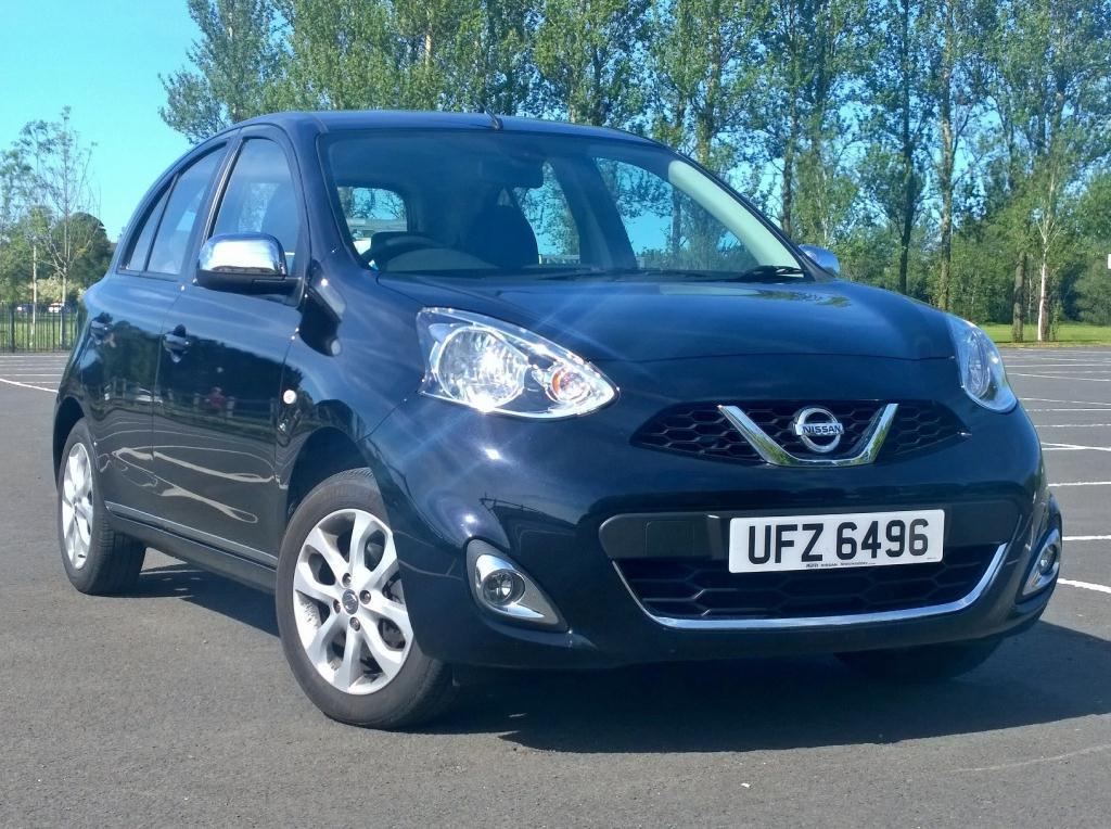 nissan micra 1 2 acenta 5dr sat nav 2014 in newtownabbey county antrim gumtree. Black Bedroom Furniture Sets. Home Design Ideas