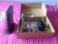 Sky broadband wireless router - fully working with wires