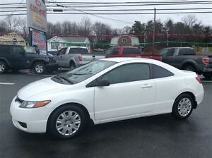 2008 Honda Civic DX,NEW SAFETY,SHARP LOOKING COUPE!!