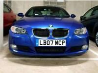 BMW 325i SE convertible 3.0L sat nav 218BHP leather seats park assist