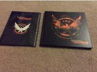 Tom Clancy's The Division Artbook and poster - brand new