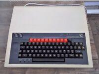 vintage 1981 bbc microcomputer system acorn working