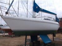 Hunter Horizon 272 sloop rig yacht 6 berth. for sale  Lyndhurst, Hampshire