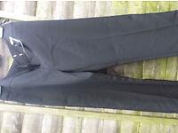 new ladies size 14 black trousers