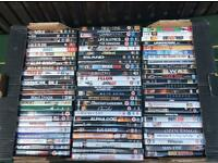 Box of 80 DVD's - many popular titles