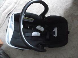 PETITE STAR CHARISMA BABY CAR SEAT - VIRTUALLY NEW ; 0-13kg