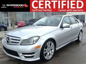 2013 Mercedes-Benz C-Class C350 AWD | PANORAMIC | HEATED LEATHER