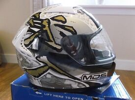 """AGV / MDS """"Ronin"""" Helmet / Size Large / New in Box / Never Worn / Full Warranty /ACU Gold Approved."""