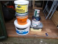 ASSORTMENT OF MOSTLY UNUSED EMULSION PAINT
