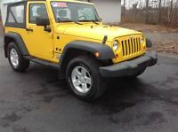 2009 Jeep Wrangler $169.00 BI WEEKLY O.A.C.|3.8 L V6 WITH A 6 SP
