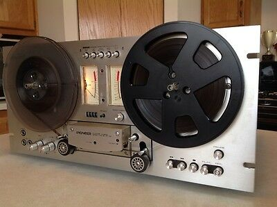 Vintage Pioneer Rt 701 4 Track Reel To Reel Tape Deck Player Recorder Rt701