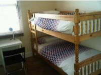 Twin bunk bed at Fortress Rd