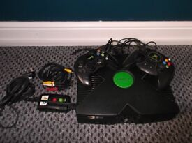 XBox Games Console and Games.
