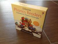 🎄 Usborne Phonics Young Readers 12 Picture Books Collection Gift Set - used but like new
