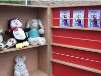 Childrens storage cupboard