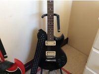 Quality Leather Guitar strap with genuine Schaller strap locks