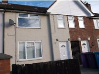 Three bedroom unfurnished mid Terrace located just off Carr Lane in Norris Green L11