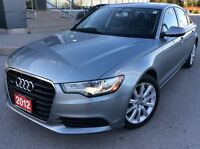 2012 Audi A6 3.0T Premium ALL WHEEL DRIVE NAVIGATION
