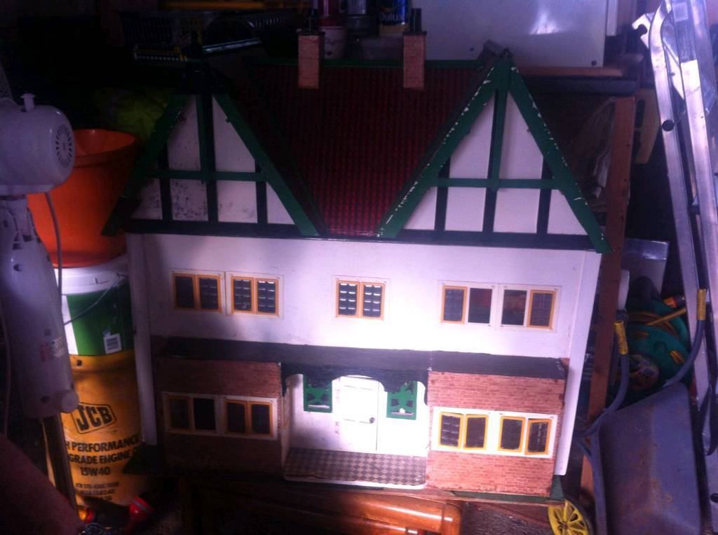 Handmade dolls house