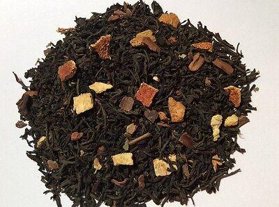 Cinnamon Orange Winter Spice Black Loose Leaf Tea 4oz 1/4 lb Orange Spice Loose Leaf
