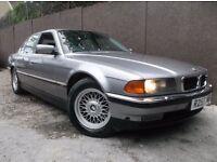 BMW 7 SERIES 740I V8 SPORT 4DR AUTO FULL SERVICE HISTORY 16 STAMPS*MOT:2/6/2017*FULLYLOADED ALLOYS