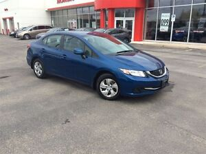 2013 Honda Civic LX CVT| ONE OWNER| ACCIDENT FREE| HEATED SEATS|