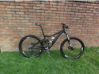 Mountain bike. Giant Trance 2 2014. Medium.