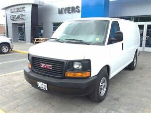 2016 GMC Savana 2500 LOW KILOMETER 135 WHEEL BASE CARGO!!!