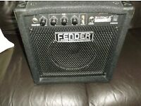 Fender bass practice amp 15w new condition £50 ovno