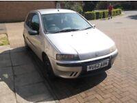 Fiat punto 1.2 active sport,52 reg ,1 prev lady owner, 84000 miles fshall books,pas/city mode,ew,cd