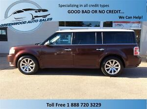 2010 Ford Flex Limited! LEATHER! HUGE SUNROOF! CALL NOW!