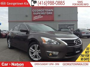 2013 Nissan Altima 3.5 SV | SUNROOF | BACK UP CAM | HEATED SEATS