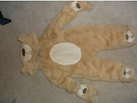Selection of Baby Snow Suits (Gorgeous Bear Design marked 6 -9 Months but I would say more like 3-6)