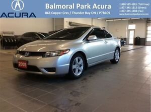 2008 Honda Civic LX low km's!! Clean Car Proof