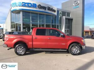 2011 Ford F-150 Lariat, Navigation, Heated Leather, p. Sunroof,
