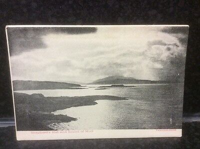 83. Shepherd's Hat and Sound of Mull Valentine's Antique Postcard