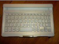 Samsung Bluetooth Keyboard Dock Case Galaxy Tab S 8.4 White EJ-CT700K UK