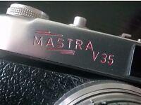 vintage ( 1958 ) ' mastra v 35 ' 35 mm camera