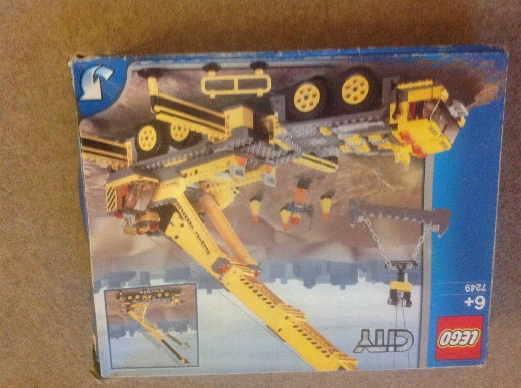 Lego City Crane Lego City Crane 7249 6