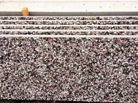 Concrete garage panels canterbury spar dashed