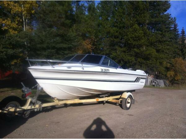 Used 1977 Fiberform V hull